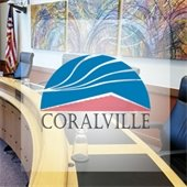 Coralville Council chambers