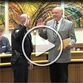 Video: Council Comments & Swearing In New Police Chief