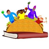 Taco and book