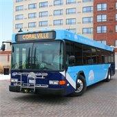 Coralville Transit bus