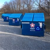 Large recycling containers