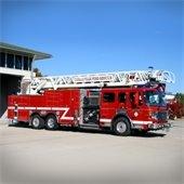 Coralville fire truck